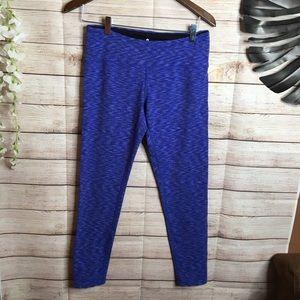 Tuff athletic blue leggings size M